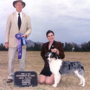 Echo winning Altered Winners Bitch under Judge Jack Allen, 11.30.2002