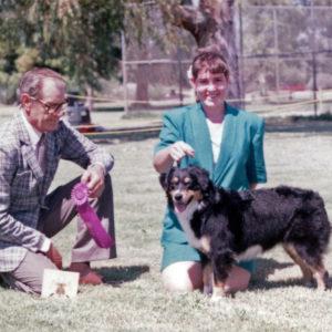 Phoebe winning Winners Bitch under Judge Furman Cunningham at OPASC, Marana AZ, September 11, 1993