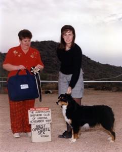 199711 Phoebe bos cool down Judy Norris