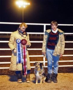 Harley winning High Score Cattle under Judge Jeanne Joy Hartnagle at the 1989 ASCAZ Silver Specialty, Phoenix AZ, Nov 1989