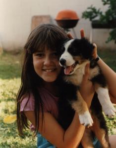 Meeka as a puppy