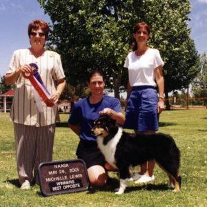 Aster winning Altered Winners Bitch, Altered Best of Winners under Judge Michelle Lewis, 05.26.2001