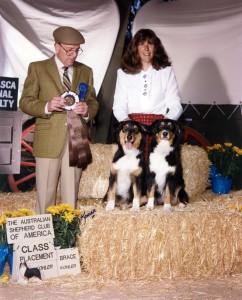 199411 Phoebe Scooter 2nd Place Brace 1994 National Bruce Voran